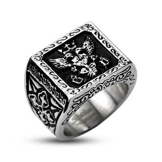 мужские кольца серебро печатки