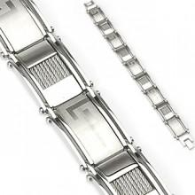 Bracelet homme en acier Azteka